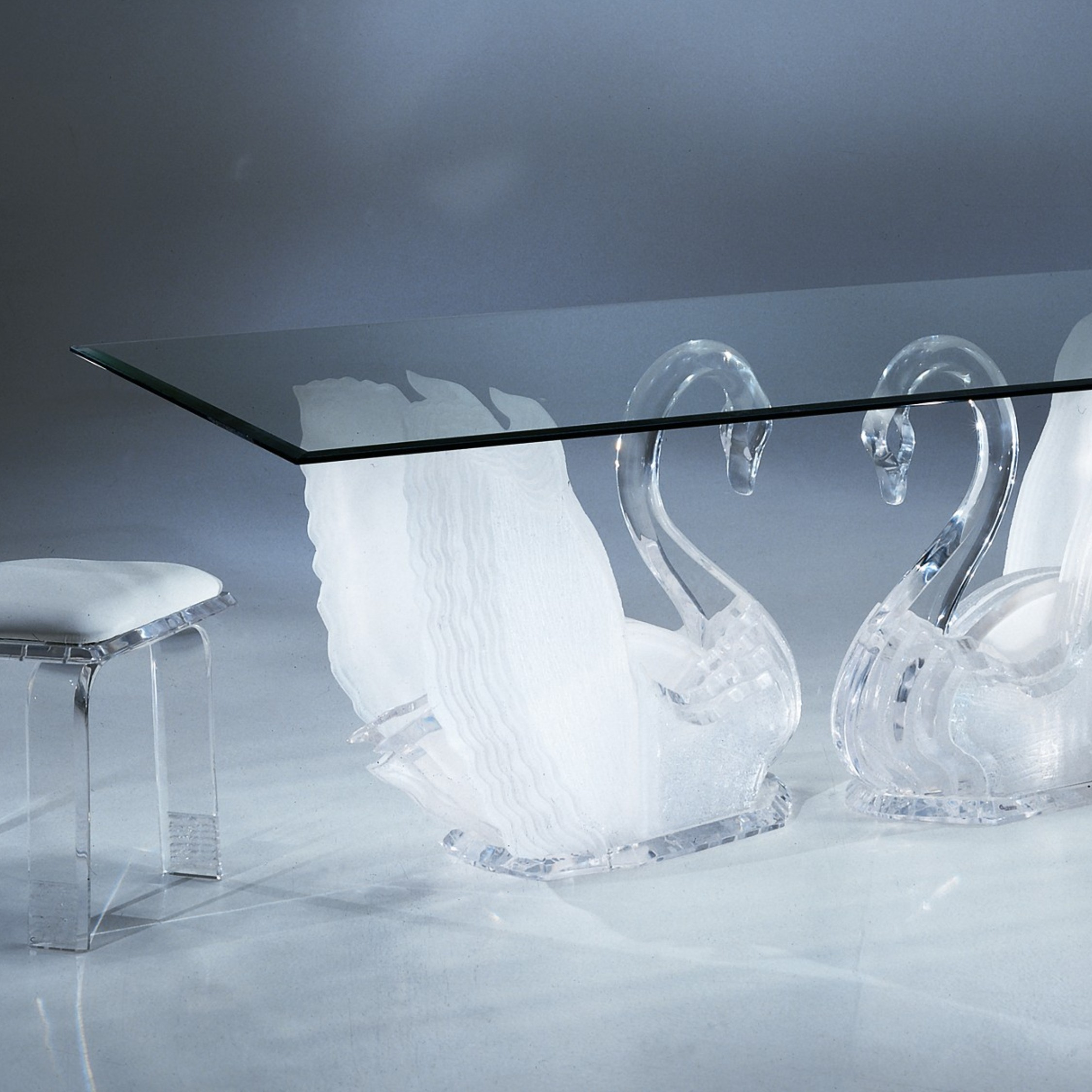 Legend Swan Dining Table, Acrylic Coffee Tables, Acrylic Furniture