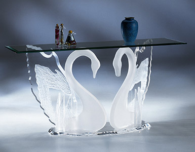 Acrylic Console & Sofa Tables
