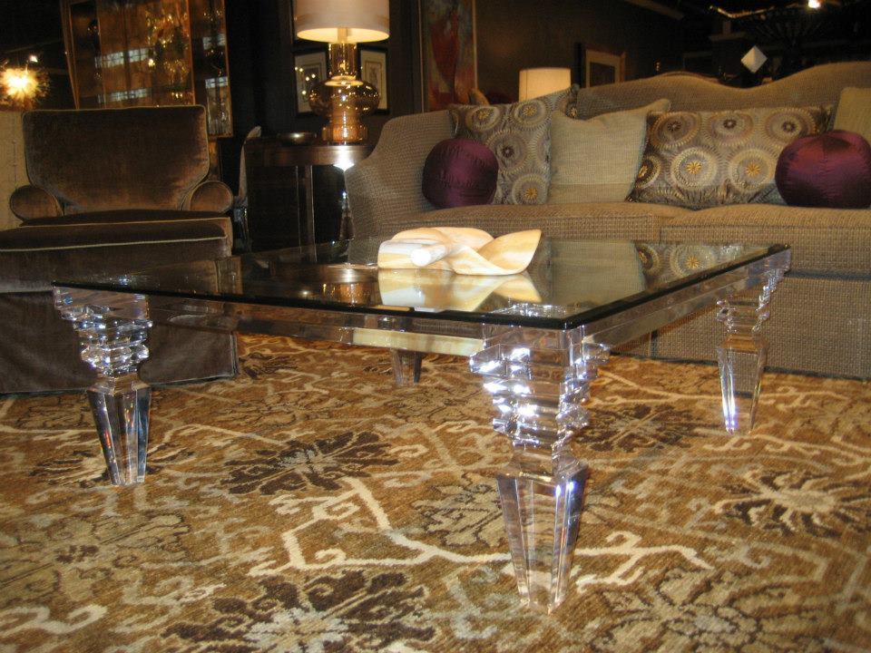 acrylic furniture & Beautify Your Dining Space with Clear Acrylic Dining Table ...