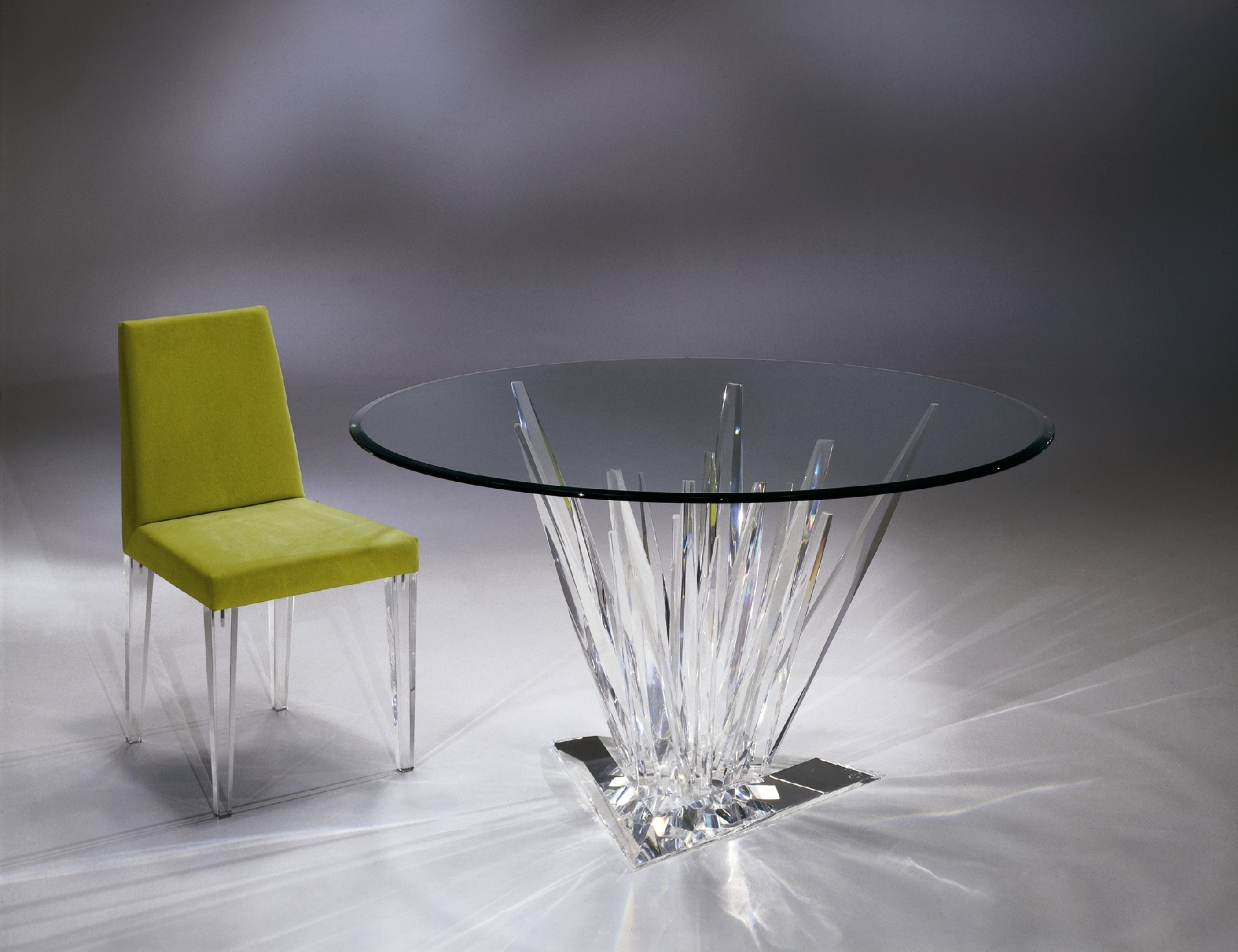Crystals Dinette Table Shahrooz Art