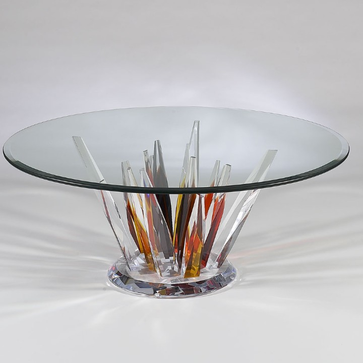 Crystals Coffee Table Cr900p C Crystal Earth Tone Colors 1