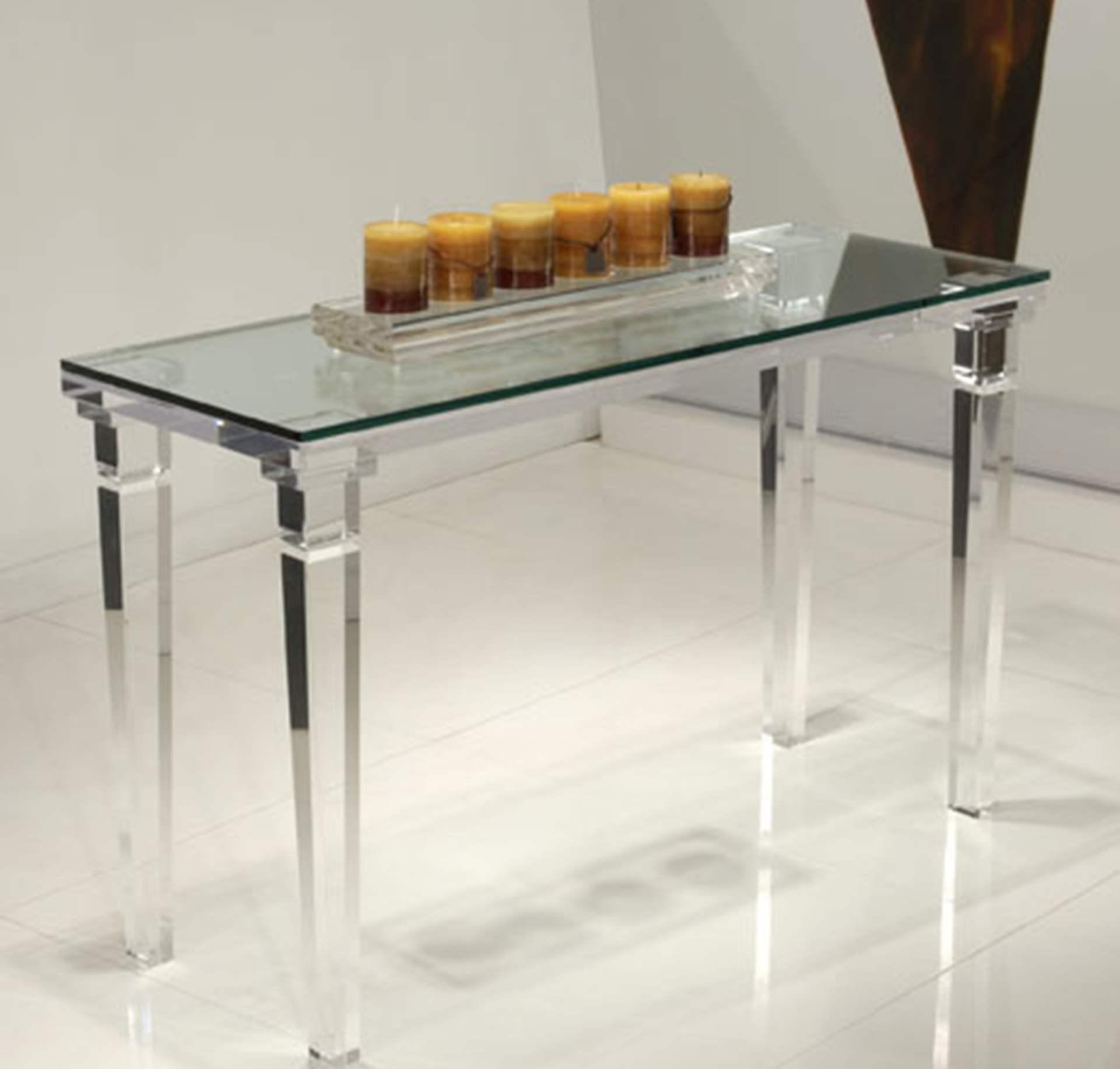 Chateau Sofa Table Acrylic Bar Stools Acrylic Furniture