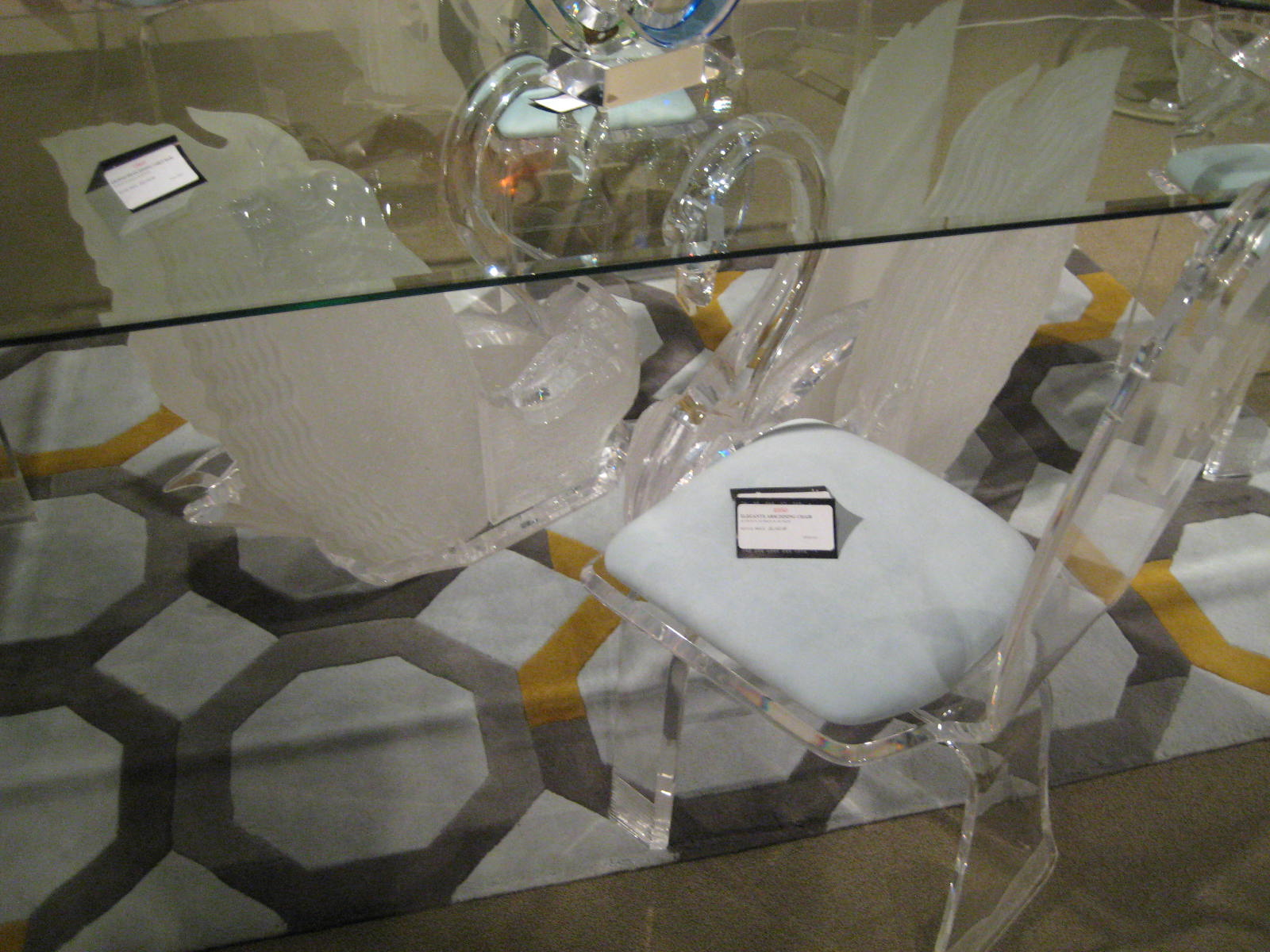 Legend Swan Dining Table Acrylic Coffee Tables Acrylic