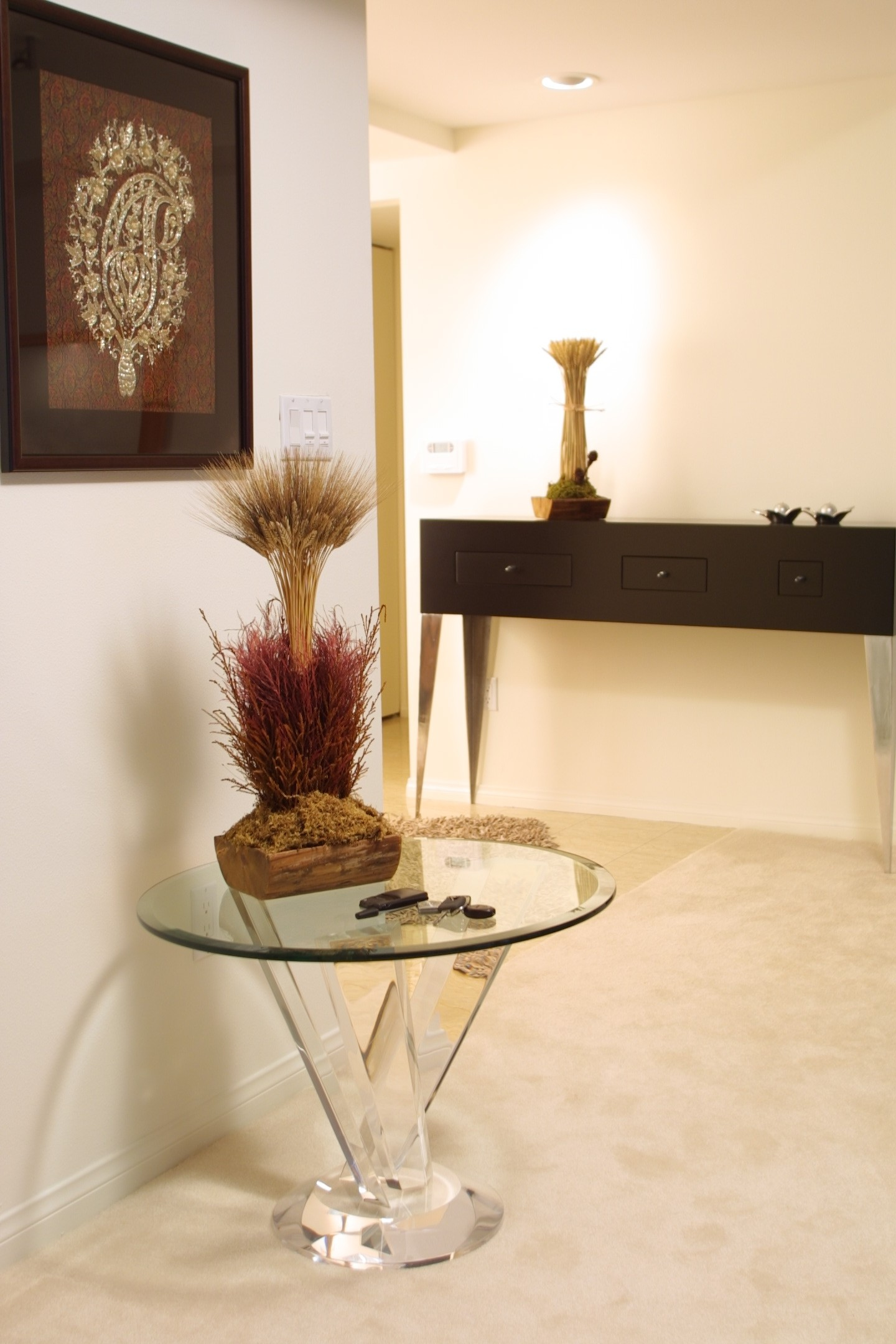 Spectrum End Table Base Shahrooz Art