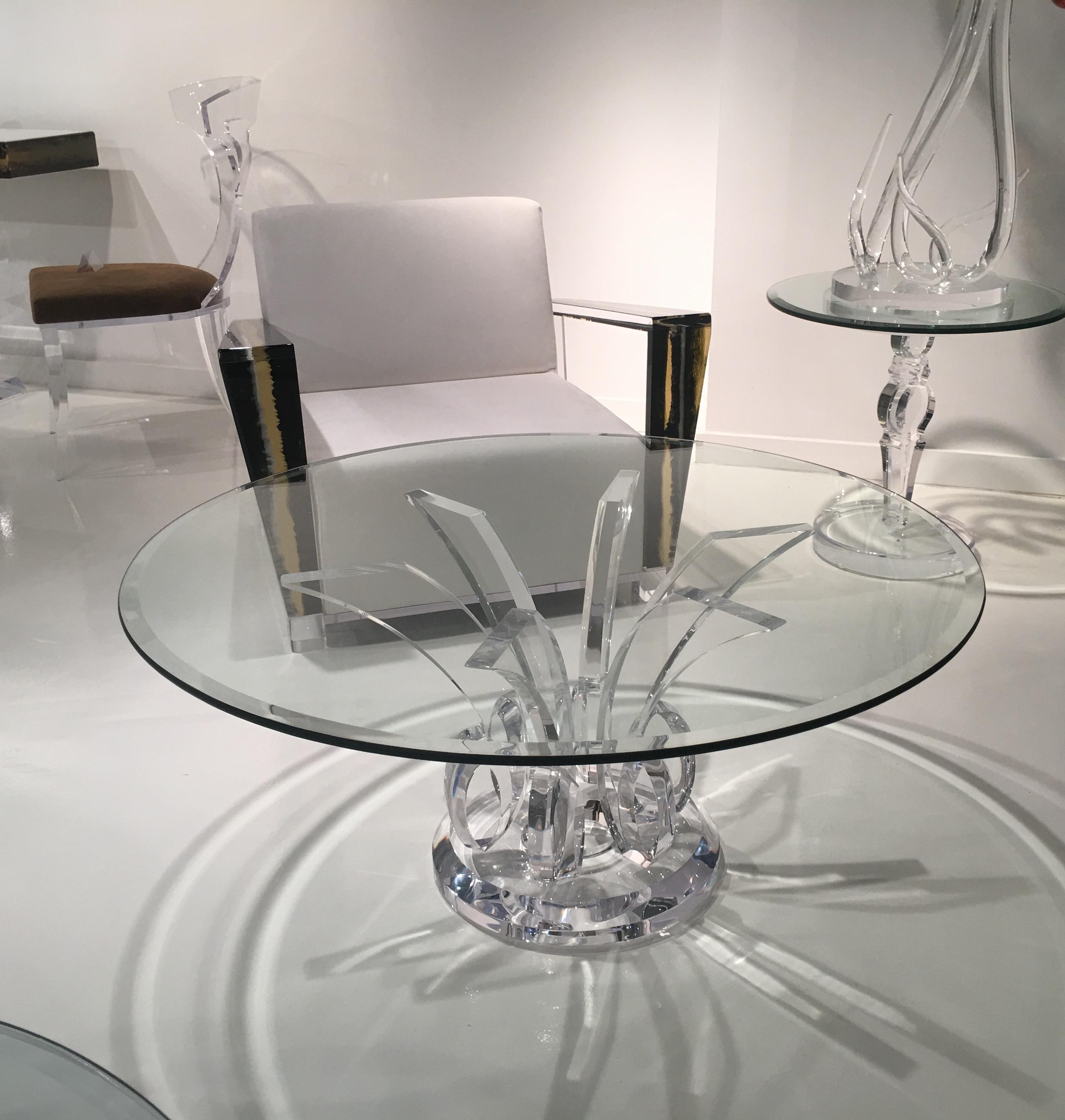 Calypso Acrylic Coffee Table